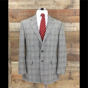 Hickey Freeman Madison Men's Glen Plaid Sport Coat